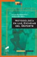 Portada de METODOLOGIA EN LAS CIENCIAS DEL DEPORTE