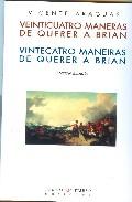Portada de VEINTICUATRO MANERAS DE QUERER A BRIAN VINTECATRO MANEIRAS DE QUERER A BRIAN