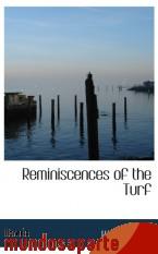 Portada de REMINISCENCES OF THE TURF
