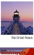 Portada de THE GREAT PEACE