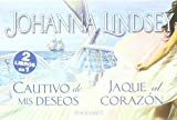 Portada de CAUTIVO DE MIS DESEOS; JAQUE AL CORAZON (COLECCION LIBRINOS)