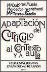 Portada de ADAPTACION DEL CURRICULO AL CONTEXTO Y AL AULA: RESPUESTA EDUCATIVA EN LAS CUEVAS DE GUADIX