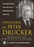 Portada de ENSEÑANZAS DE PETER DRUKER