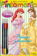 Portada de DISNEY PRINCESA: PINTAMANIA ROTULADOR DOBLE: PRINCESAS Y DIAMANTES