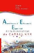 Portada de AUXILIARS D EDUCACIO ESPECIAL DE LA GENERALITAT DE CATALUNYA: TEORIA TEST I CASOS PRACTICS