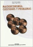 Portada de MACROECONOMIA: CUESTIONES Y PROBLEMAS