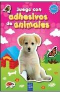 Portada de JUEGA CON ADHESIVOS DE ANIMALES. ROSA