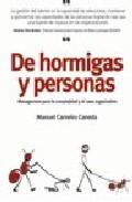 Portada de DE HORMIGAS Y PERSONAS: MANAGEMENT PARA LA COMPLEJIDAD Y EL CAOS ORGANIZATIVO