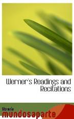 Portada de WERNER`S READINGS AND RECITATIONS