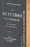 Portada de EL SUICIDIO Y LA CIVILIZACION