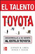 Portada de EL TALENTO TOYOTA