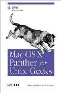 Portada de MAC OS X PANTHER FOR UNIX GEEKS