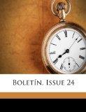 Portada de BOLETÍN, ISSUE 24