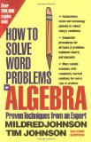 Portada de HOW TO SOLVE WORD PROBLEMS IN ALGEBRA: A SOLVED PROBLEM APPROACH (HOW TO SOLVE WORD PROBLEMS SERIES)