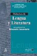 Portada de DIDACTICA DE LENGUA Y LITERATURA
