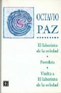Portada de EL LABERINTO DE LA SOLEDAD: POSTDATA; VUELTA A EL LABERINTO DE LASOLEDAD