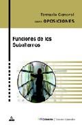 Portada de FUNCIONES DE LOS SUBALTERNOS. TEMARIO GENERAL