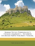Portada de SUMMA TOTIUS THEOLOGIAE S. THOMAE AQUINA