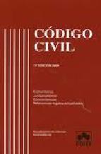 Portada de CODIGO CIVIL (17º ED.)