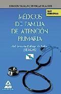 Portada de MEDICOS DE FAMILIA DE ATENCION PRIMARIA DEL SERVICIO GALLEGO DE SALUD-SERGAS. TEST DEL TEMARIO ESPECIFICO