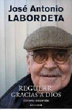 Portada de REGULAR, GRACIAS A DIOS (EBOOK)