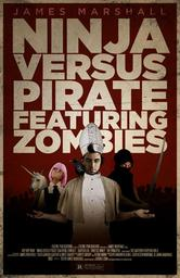 Portada de NINJA VERSUS PIRATE FEATURING ZOMBIES