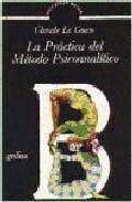 Portada de PRACTICA DEL METODO PSICOANALITICO