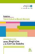 Portada de GRADUADO EN EDUCACION SECUNDARIA. EXAMENES RESUELTOS. GRUPOS LINGUISTICOS Y DE CIENCIAS SOCIALESQ