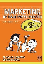 Portada de MARKETING DE BAJO PRESUPUESTO FOR ROOKIES (EBOOK)