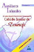 Portada de AUXILIARES INFANTILES DEL IASS-CABILDO INSULAR DE TENERIFE. TEMARIO