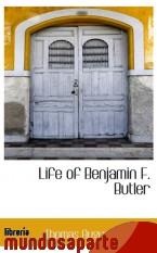 Portada de LIFE OF BENJAMIN F. BUTLER