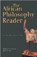 Portada de THE AFRICAN PHILOSOPHY READER