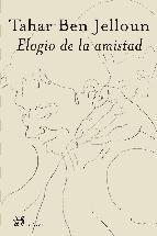 Portada de ELOGIO DE LA AMISTAD
