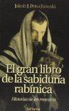 Portada de EL GRAN LIBRO DE LA SABIDURIA RABINICA: HISTORIAS DE LOS MAESTROS