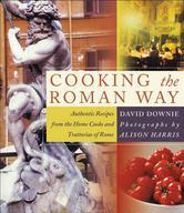 Portada de COOKING THE ROMAN WAY