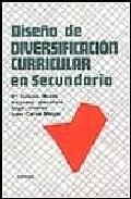 Portada de DISEÑO DE DIVERSIFICACION CURRICULAR EN SECUNDARIA