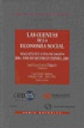 Portada de LAS CUENTAS DE LA ECONOMIA SOCIAL: MAGNITUDES Y FINANCIACION DEL TERCER SECTOR EN ESPAÑA, 2005