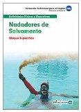 Portada de NADADORES DE SALVAMENTO. BLOQUE ESPECIFICO. FORMACION PROFESIONALPARA EL EMPLEO