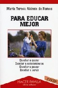 Portada de PARA EDUCAR MEJOR