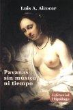 Portada de PAVANAS SIN MUSICA NI TIEMPO