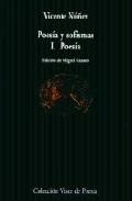 Portada de POESIA Y SOFISMAS : POESIA
