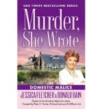 Portada de [(DOMESTIC MALICE)] [BY: JESSICA FLETCHER]