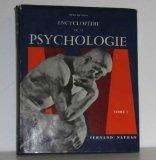 Portada de ENCYCLOPÉDIE DE LA PSYCHOLOGIE TOME I