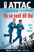 Portada de CONSTITUTION EUROPEENNE: ILS SE SONT DIT OUI