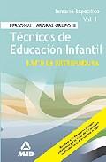 Portada de TECNICOS DE EDUCACION INFANTIL DE LA COMUNIDAD DE EXTREMADURA I