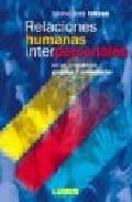 Portada de RELACIONES HUMANAS INTERPERSONALES