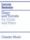 Portada de LENNOX BERKELEY: ELEGY AND TOCCATA