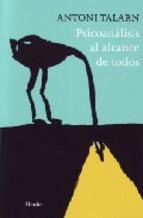 Portada de PSICOANÁLSIS AL ALCANCE DE TODOS (EBOOK)