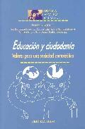 Portada de EDUCACION Y CIUDADANIA: VALORES PARA UNA SOCIEDAD DEMOCRATICA