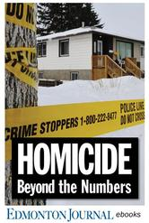 Portada de HOMICIDE: BEYOND THE NUMBERS